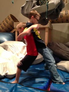 Play wrestling is awesome!