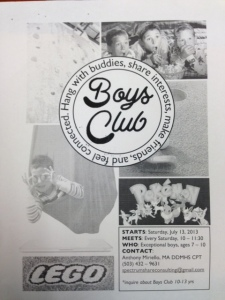 Boys Club Flyer